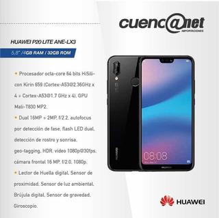 Huawei P20 Lite Ane-lx3 Black