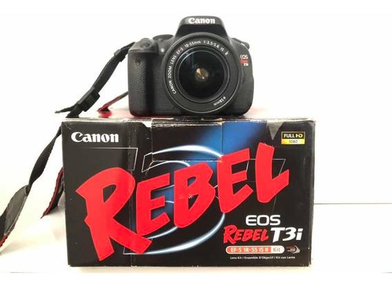 Câmera Cânon T3i
