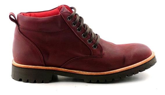 Bota Hombre Borcego Cuero Briganti Zapato Premium Hcbo00887