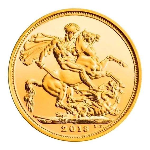 Moneda Oro 22k Libra Esterlina Soberano