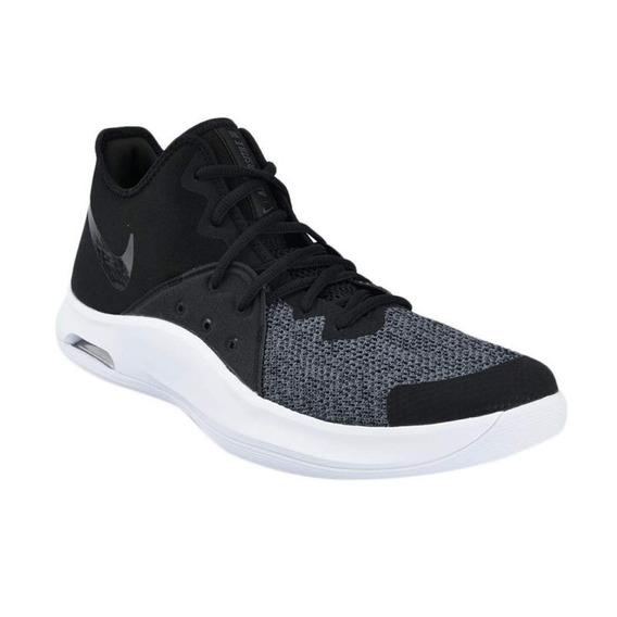 Tenis Nike Basquetbol Air Versitile Hombre Negro Ao4430-001