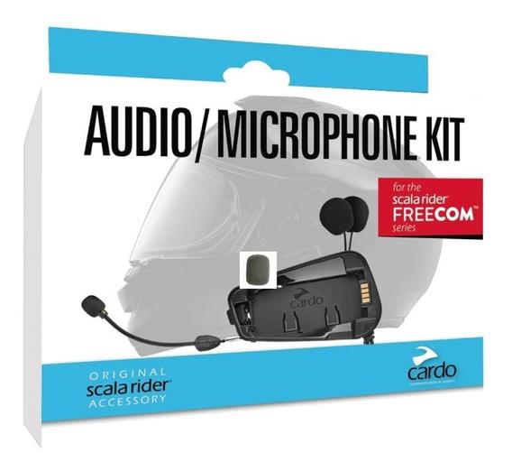 Audio Kit Y Microfono Cardo Scala Rider Freecom Serie