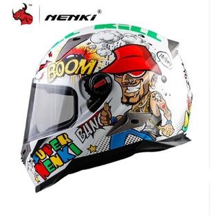 Casco Nenki Vr Boom Avg Icon Arai + Regalo Envío Gratis