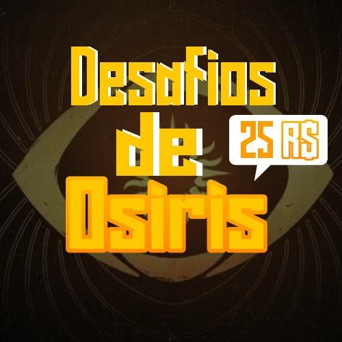 Destiny 2 - Desafios De Osíris 1x (ps4 E Crossave)