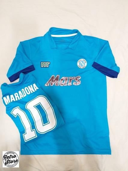 Camiseta Napoli 1989/1990 (titular: Maradona 10)