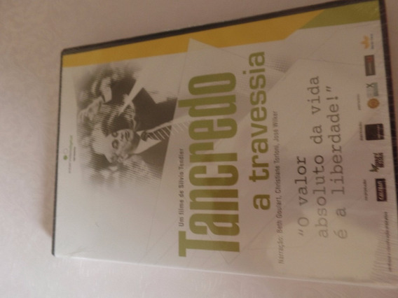 Dvd Original Lacrado Tancredo A Travessia