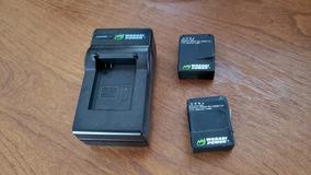 Carregador Externo + 2 Baterias. Gopro Hero 3 E 3+