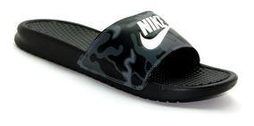 Chinelo Nike Benassi Jdi Print - 631261 Envio Em 24 Horas