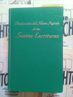 Traducción Nuevo Mundo 1967 Verde - Watchtower - Jehová