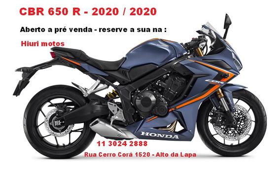 Honda Cbr 650 R - Abs - Reserve A Sua - Na Hiuri Motos