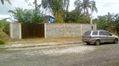 Terreno Em Itanhaém Com 332m², Ficando Lado Praia, Ref 4836