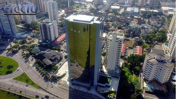 Sala Comercial À Venda No Edifício The One Jardim Aquarius, 62 M² 2 Vagas Pronta Para Usar R$ 450.000 - São José Dos Campos/sp - Sa0235