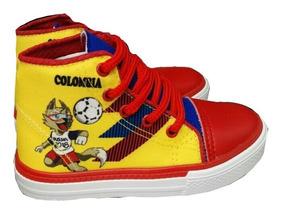 Remate Tenis Selección Colombia Tricolor