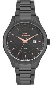Relógio Technos Masculino Grafite Classic 2115mpq/4a