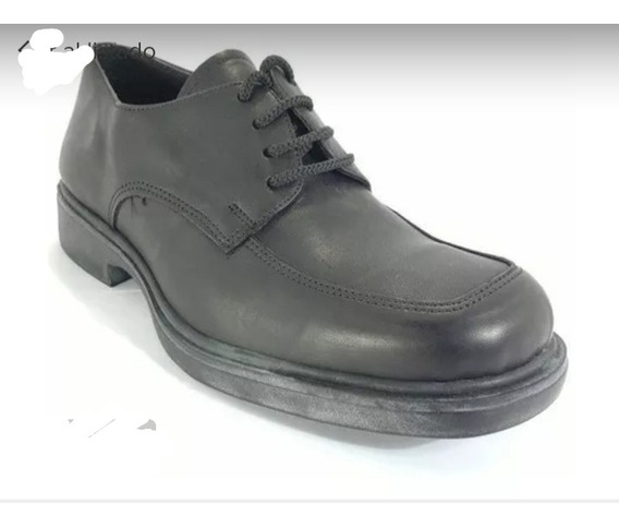 Zapato Cuero Vacuno #38 Negro Nuevo
