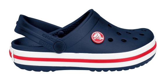 Crocs Crocband Niños Originales Navy Azul Marino