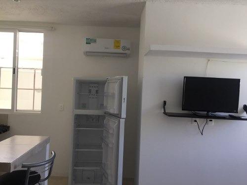 Renta Departamento En Cancun ,amueblado Muy Ubicado!!!