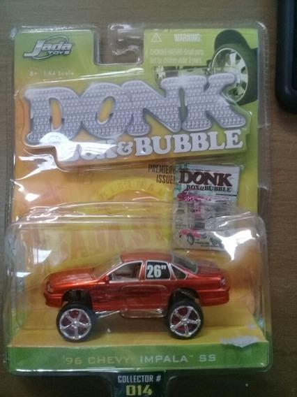 Miniatura 96 Chevy Ss 1/64 Jada Toys Donk Box & Bubble