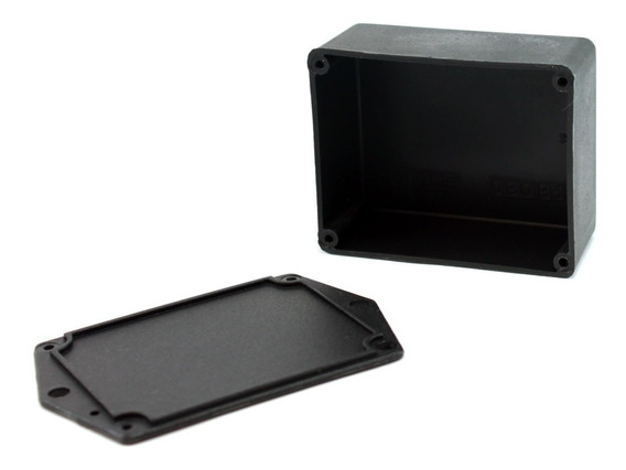 Caixa De Plástico Com Tampa - Patola Mod. Pb060 - 10 Pçs