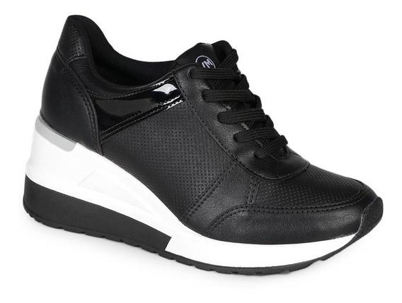 Tênis Sneaker Feminino Via Marte Recortes