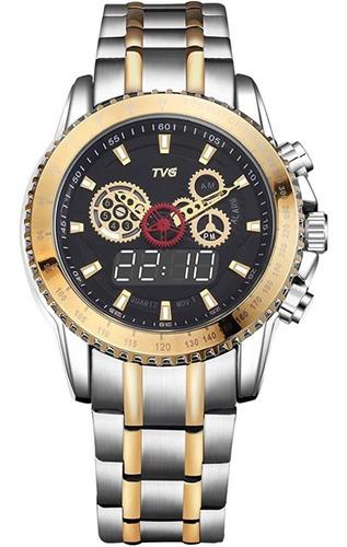 Reloj Militar Tvg De Lujo, Marca De Moda, Reloj Para Hombre,