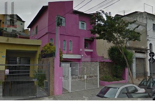 Sobrado Para Alugar, 287 M² Por R$ 6.000,00/mês - Tatuapé - São Paulo/sp - So1100