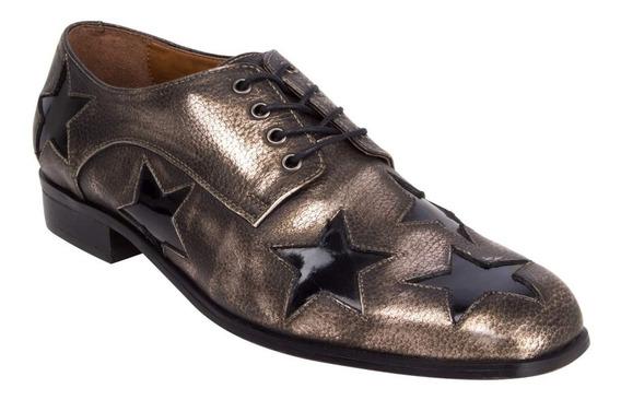 Zapato Dickinson Zappa Mujer Plateado - X550