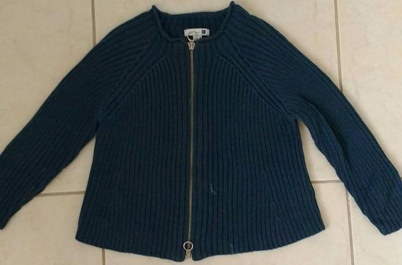 Suéter Azul Para Niña Marca Zara