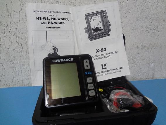 Sonar Lowrance X 23 + Transducers