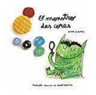 Livro O Monstro Das Cores Anna Llenas