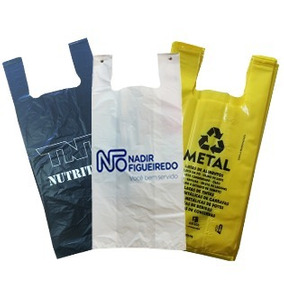 Sacola Personalizada De Plastico
