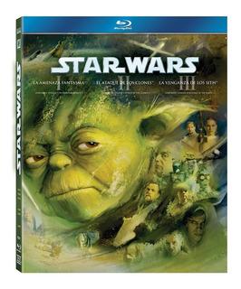 Star Wars Trilogia Precuela Episodios I, Ii, Iii Bluray