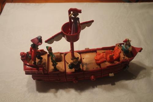 Peter Con Personajes Juguete Niños 00 Pirata 000 Pan Barco Para Bs40 vmnN80w