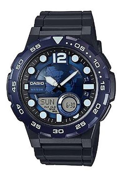 Relógio Casio Masculino Aeq-100w-2avdf