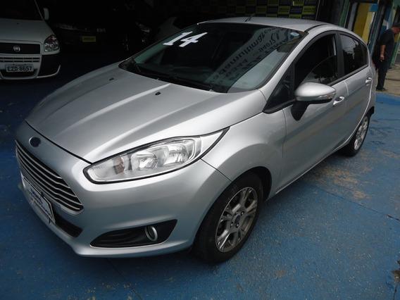 Ford Fiesta Se 2014 1.6 Flex Prata