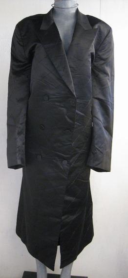 Abrigo Talla 48l Color Negro Marca G&g