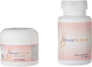 Breast Actives ´pastillas Y Crema Agrandar Bustos Femenino