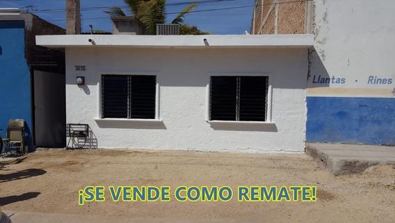 Se Vende Como Remate Propiedad Colonia Pemex - Culiacán