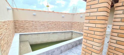 Casa Com Piscina No Jardim Palmeiras Em Itanhaém - Ca382-f