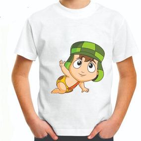 Camiseta Infantil Chaves