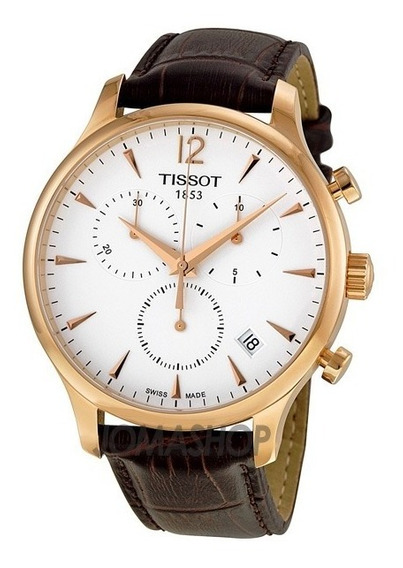 Relógio Tissot Tradition T0636173603700 Rose Original