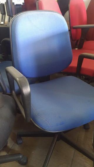 Cadeira Azul Encosto Alto