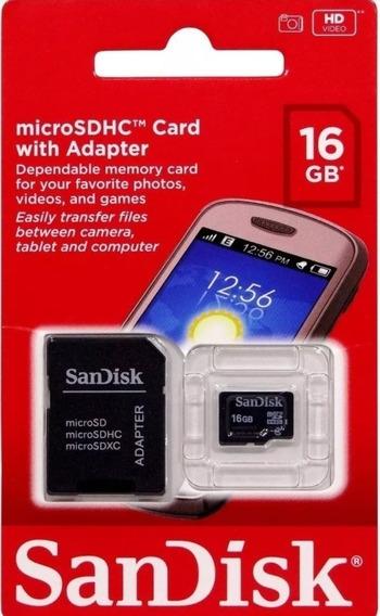 50 Cartão 16gb Sandisk.