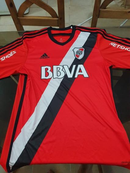 Camiseta River Alternativa Año 2015 (roja) Talle L