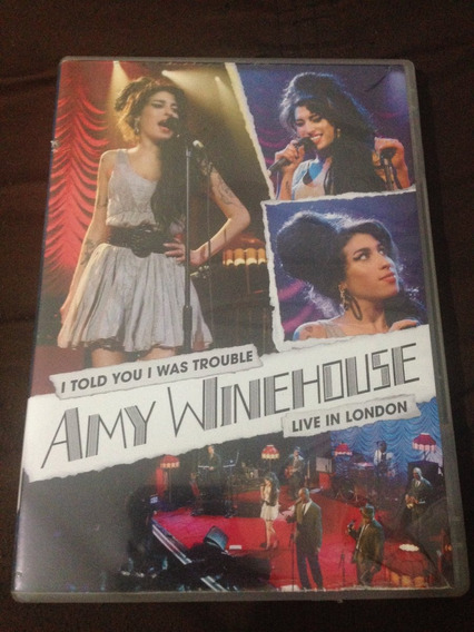 Dvd Amy Winehouse Live In London: I Told You I Was Trouble