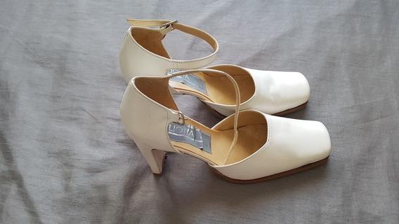 Zapatos Blancos Opcional Novia / Quince Años