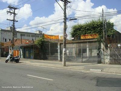 Galpão Para Venda Em São Paulo, Sacomã - Gase0020