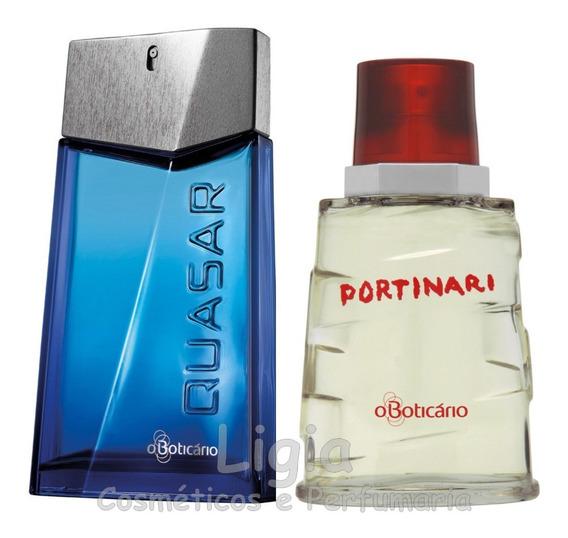 Perfume Quasar Classic + Perfume Portinari Boticário