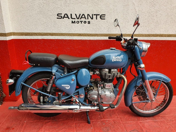 Royal Enfield Esquadron Blue 2018 Azul