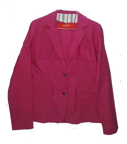 Blazer Saco De Mujer Bengalina Elastizada Talles Grandes